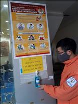 Điện lực Chí Linh chủ động, tích cực phòng, chống dịch bệnh do virut Corona (nCOV)