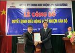 PC Hải Dương điều động bổ nhiệm Giám đốc Điện lực Nam Sách
