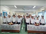 Điện lực Cẩm Giàng tổ chức Lễ phát động tuyên thệ thực hiện VHATLĐ