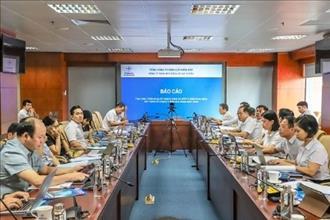 Tổ công tác EVN khảo sát, đánh giá việc thực hiện các chỉ tiêu kế hoạch sản xuất kinh doanh và Đầu tư phát triển giai đoạn 2016-2020 tại Công ty TNHH MTV Điện lực Hải Dương